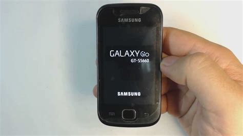 how to factory reset samsung galaxy gio s5660 youtube
