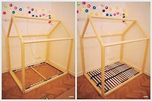Lit Maison Bois : plan fabrication cabane pour enfants planches de bois ~ Premium-room.com Idées de Décoration