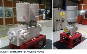 Baker Hughes 20 000 Psi Subsea Valves Delivery