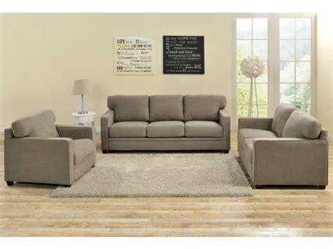liquidation canapé canapé et fauteuil en tissu casilda anthracite