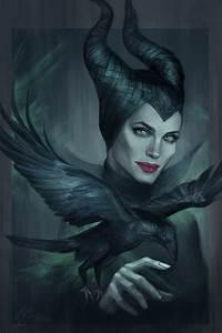 Image Gallery maleficent art