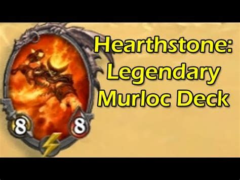 hearthstone ranked legendary murloc deck closed beta gameplay with wowcrendor