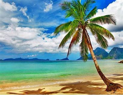 Tropical Desktop Beach Background Wallpapers Wallpapersafari