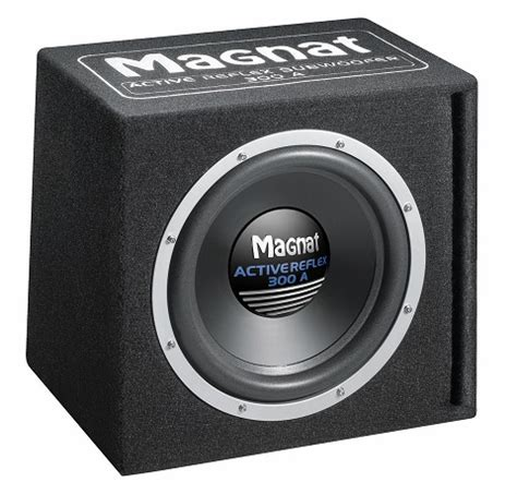 subwoofer auto test car audio subwoofer magnat active reflex 300 a woofer and bass test