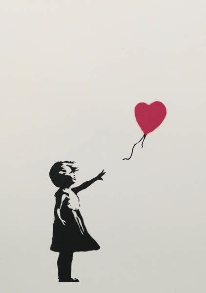 banksy girl  balloon  meaning description