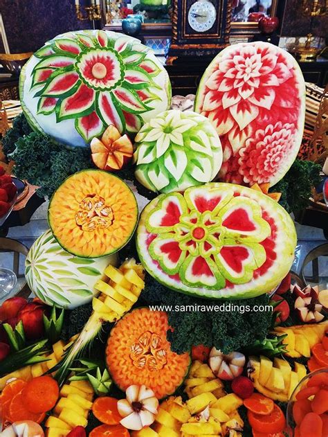 fruit display persian wedding  party services