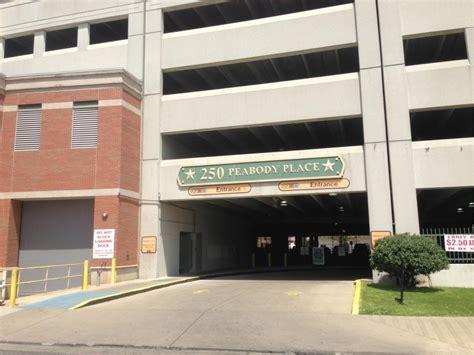 250 Peabody Place Garage  Parking In Memphis Parkme