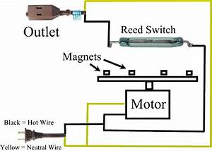 2wire Reed Switch Diagram : build your own christmas light flashing machine ~ A.2002-acura-tl-radio.info Haus und Dekorationen