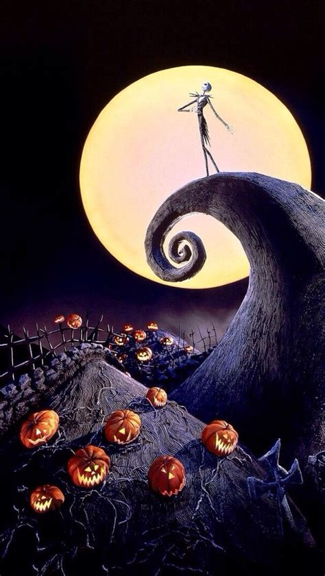 Background High Resolution Nightmare Before Wallpaper by Nightmare Before Phone Wallpaper Gallery