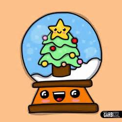 Kawaii Christmas Drawings Easy