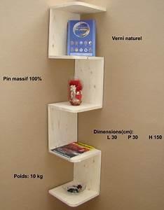 étagère D Angle Murale : etag re murale d 39 angle natacha chambre pinterest ~ Dailycaller-alerts.com Idées de Décoration