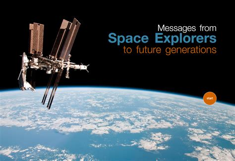 2016 edition messages from space explorers to future generations