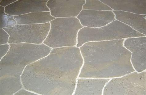 faux paint your concrete floor