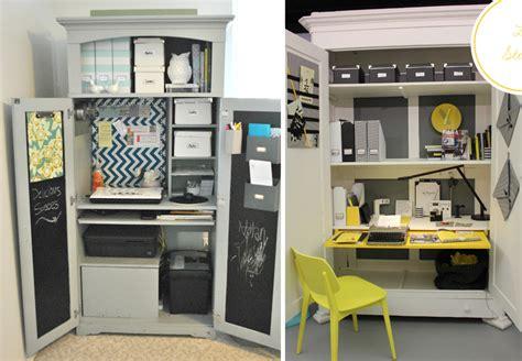 bureau dans une armoire 20 bureaux ingénieux pour petits espaces bnbstaging le
