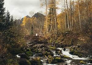 Petit Pont En Bois : petit pont de bois maroon bells aux etats unis ~ Melissatoandfro.com Idées de Décoration