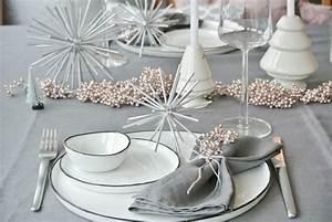 Tischdeko Weihnachten Silber : zweimal tischdeko weihnachten diy stern ~ Watch28wear.com Haus und Dekorationen