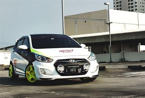 Modifikasi Hyundai I20 by Modifikasi Mobil Hyundai Grand Avega Konsep Rally