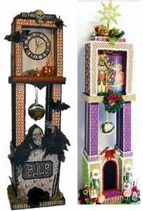 Grandfather Clock And Mini Album Tutorial