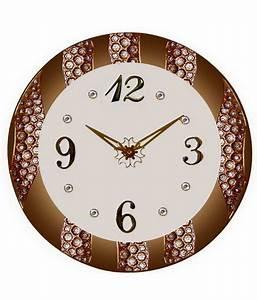 Unique Brown Digital Wall Clock: Buy Unique Brown Digital ...