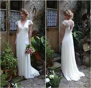 robe de mariee boheme romantique par elsa gary the dress With robe de mariée vintage romantique