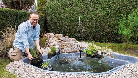 Teich Selber Bauen Eigenes Biotop Anlegen by Der Eigene Gartenteich Selber Machen Heimwerkermagazin