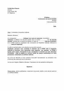 Medecin Expert De Recours : lettre de contestation d 39 expertise m dicale aupr s de la commission de recours amiable mod le ~ Medecine-chirurgie-esthetiques.com Avis de Voitures