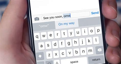 shortcuts on iphone how to use text replacement keyboard shortcuts on iphone