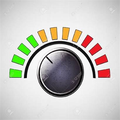 Dial Volume Clipart Control Dials Knob Panel