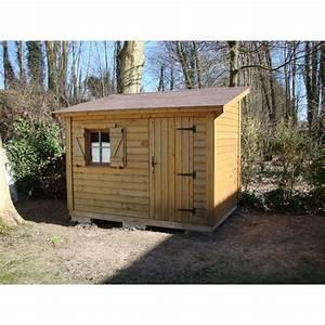 Abri De Jardin Bois En 1 Pente Auxerre Annexe Habitat