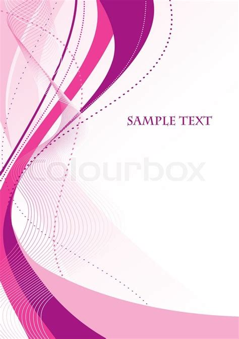 Abstract Pattern Background Pink Colors Vector Stock Abstract Pink Background Vector Stock Vector Colourbox