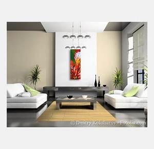 Decoration D Interieur Idee : vente d 39 un tableau moderne et design flamboyant rouge nc522 ~ Melissatoandfro.com Idées de Décoration