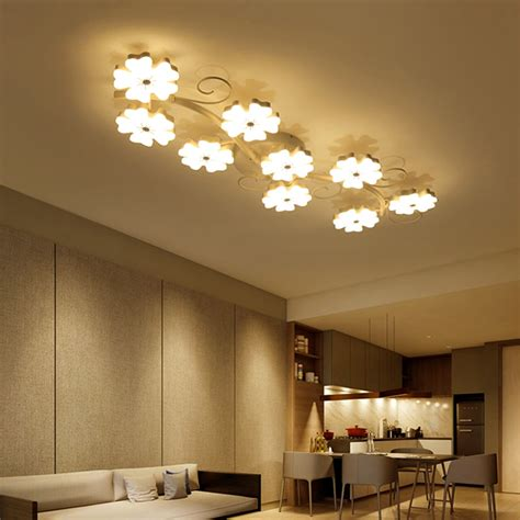 Led Lights For Room Aliexpress by Modern Brief Plum Blossom Led Ceiling Lights For Living