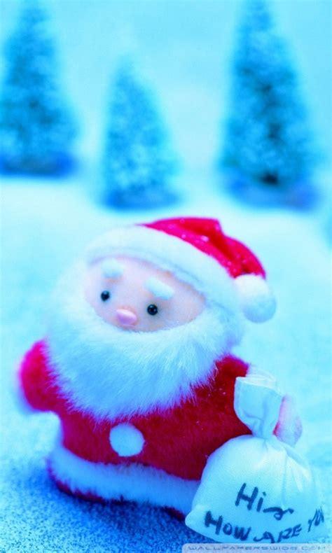 cute santa claus ultra hd desktop background wallpaper   uhd tv tablet smartphone
