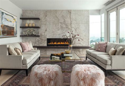 Modern Living Rooms by Get The Look A Timeless Modern Living Room Western