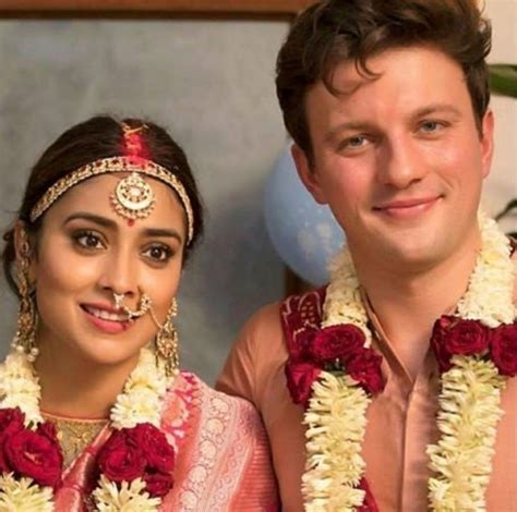 shriya saran  married  russian beau andrei koscheev