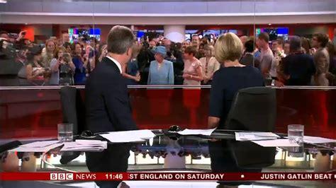 Queen photobombs BBC News - YouTube