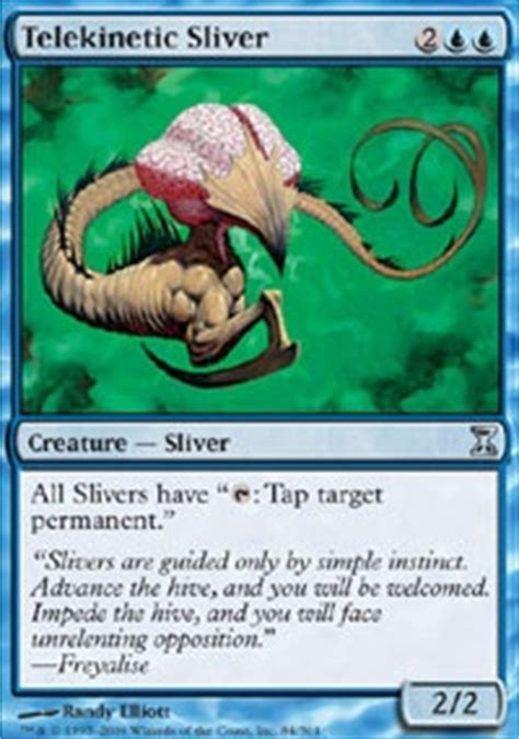 magic sliver deck ideas sliver deck help forum
