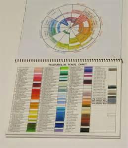 Prismacolor Colored Pencils Color Chart