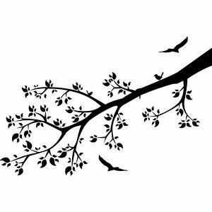 Stickers Arbre Noir : stickers branche arbre fleur pas cher ~ Teatrodelosmanantiales.com Idées de Décoration