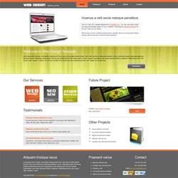 template design template 109 web design