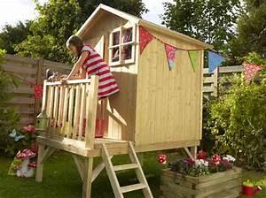 Cabane En Bois Pour Enfant : youhou un coin jardin r serv aux enfants elle d coration ~ Dailycaller-alerts.com Idées de Décoration