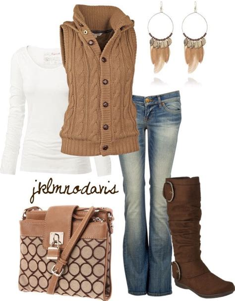 Cute Fall Vest Outfit Ideas Every Girl Should Try Musely