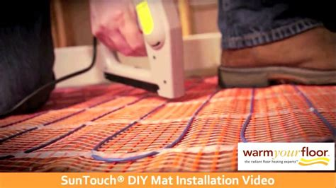 suntouch floor warming error 7 suntouch 30 diy floor heating mat install knowledge center