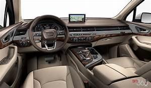 Audi Q7 Interieur : audi q7 2018 vendre qu bec pr s de trois rivi res ~ Nature-et-papiers.com Idées de Décoration