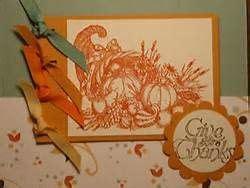 Stampin Up Thanksgiving Cards Bing Images Thanksgiving