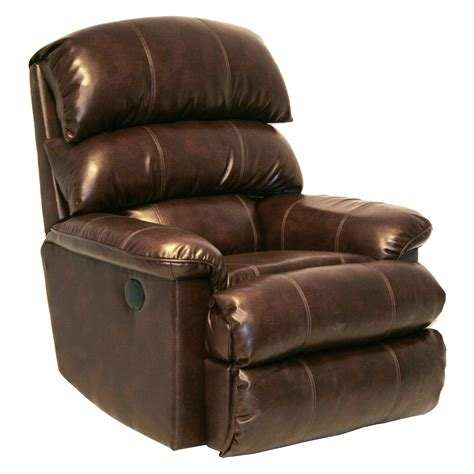 catnapper templeton leather power wall hugger recliner
