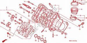 Front Cylinder Head For Honda Vfr 800 2000   Honda