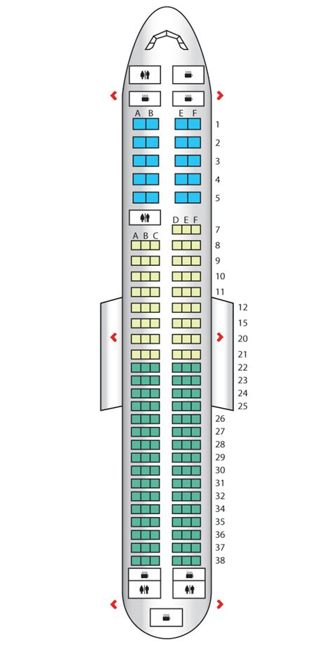 United Airlines Boeing 737 800 Seating Chart
