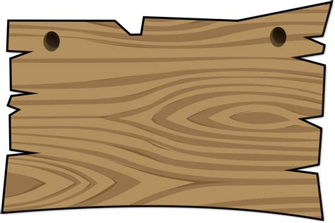 wood sign templates wooden sign template clipart best