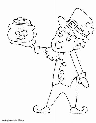 Coloring Pages March Patrick St Printable Holiday